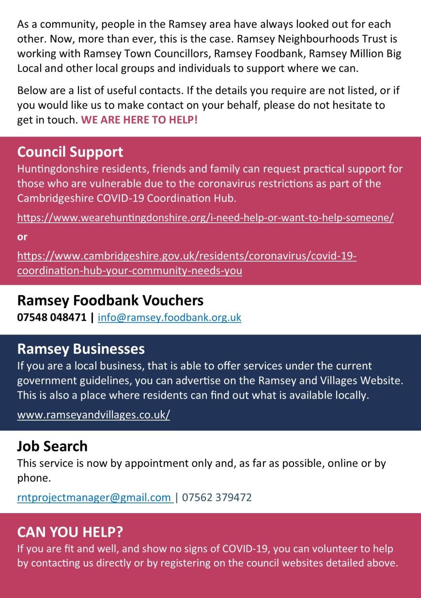 Ramsey Leaflet p2